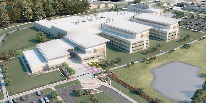 Huge New Biodefense Lab Is Dedicated at Fort Detrick