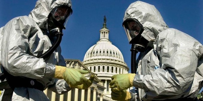 Letters Containing Anthrax are Mailed i US